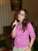 Taxi, az egyik kedvenc tanítványom énekel